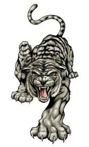tribal tiger free tattoos picture design tribal tats pinterest