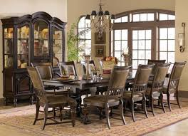 dining room set for 8 wooden rustic design of formal dining room
