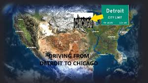 Map To Chicago by Driving From Detroit To Chicago The Crew Youtube