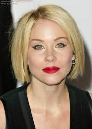 christina applegate hairstyles applegate wearing her hair in a classic bob at chin length