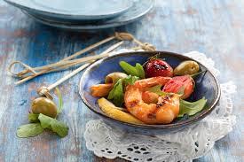 cuisine crevette recette cocktail de crevettes aux fruits