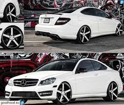 mercedes c class coupe tuning mercedes c class coupe 2013 vossen wheels tuning cars