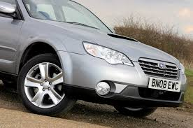 subaru outback estate review 2003 2009 parkers