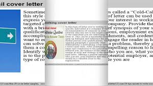 top 7 chief information officer cover letter samples youtube