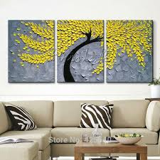 5 piece canvas wall art hand painted palette knife oil aliexpresscom buy multi panel canvas wall art hand painted oil