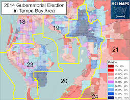 Pinellas Trail Map Updated Data Shows State Senate Districts Shouldn U0027t Cross The