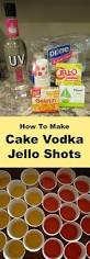 how to make cake vodka jell o shots shopping kim