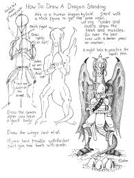 how to draw worksheets for the young artist how to draw a dragon