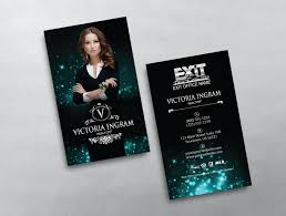 Realtor Business Card Template This Luxurious Exit Realty Business Card Template Design Features