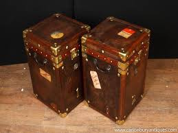steamer trunk side table furniture steamer trunk coffee table best of leather steamer trunk