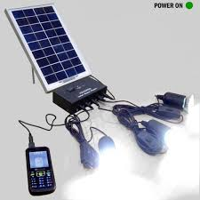 Solar Home Lighting System - champion solar home lighting system spg 5w 3000mah u0026 3 led solar