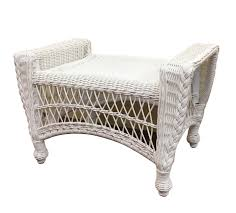 Outdoor Wicker Chair With Ottoman Outdoor Wicker Ottoman Cape Cod
