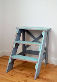 the sorted details folding step stool free plan kitchen chair blue