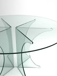 All Glass Dining Room Table All Glass Dining Table Ispcenter Us