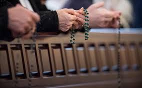 catholics plan mass rosary prayer along coast catholicherald