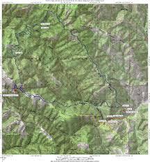 Blue Ridge Mountains Map Mountain Bike At Henry Coe
