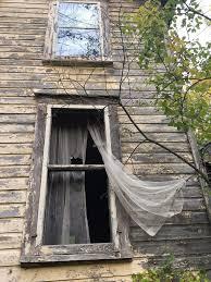 you u0027 written on ceiling inside ithaca u0027s abandoned house