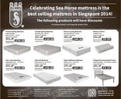 Seahorse Bed Frame Mattress Promotion Sea Till 30 Apr 2015 Bq Sg