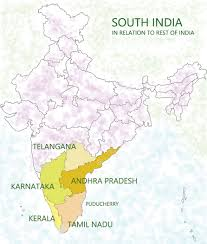 South India Map by When South Points North U2013 Musafir Namah