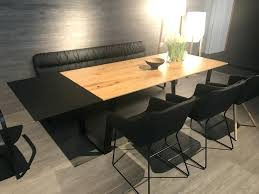 round table with bench dining room booth dining room booth bench