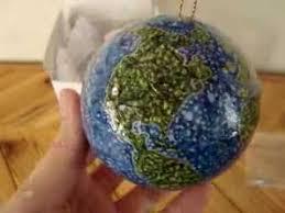 to the world globe ornaments center of faith church