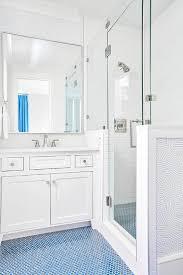 blue kid bathroom floor tiles design ideas