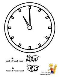 big time rush coloring pages fearless hours clock coloring clocks free telling time