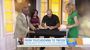 Today Show by Jon Dorenbos On The Today Show