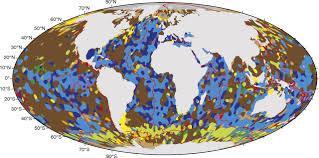 Map Of World Oceans by First Digital Map Of Ocean Sediments Reveals Weaker Carbon Sink