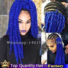 pre twisted crochet hair 24 kanekalon 2x havana mambo twist crochet purple braiding hair