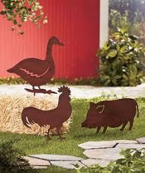 Sheet Metal Garden Art - metal yard art c d u0027s yard hens roosters decor pinterest
