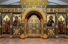 Curtain Place Why Must An Orthodox Church Have An Iconostasis And A Curtain Over