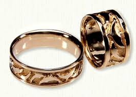 weddings rings nautical themed wedding rings affordable unique gold ring designs