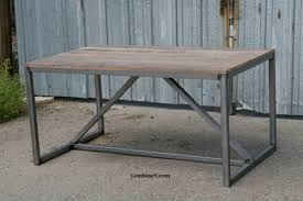 make a desk out of reclaimed wood new woodworking style
