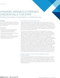 how to write a technical white paper vmware airwatch derived credentials datasheet jpg vmware airwatch derived credentials for emm