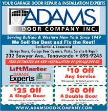 Rochester Overhead Door by Adams Garage Doors Gallery French Door Garage Door U0026 Front Door
