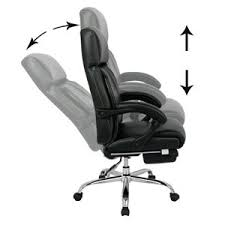 Armchair With Desk Amazon Com Viva Office Reclining Office Chair High Back Bonded