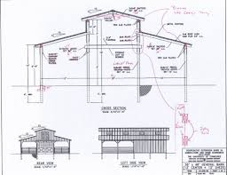 House Barns Plans by Monitor Style Barn Kit Horse Barn Plans Barn Building Kits