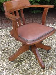 swivel captains chair fine antique office swivel captain s chair very clean delivery