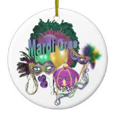 ceramic mardi gras masks mardi gras ornaments keepsake ornaments zazzle