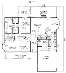 Rambler Open Floor Plans Delmont Country Home Plan 055d 0193 House Plans And More