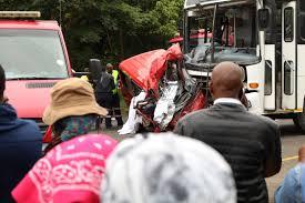 watch terrifying dash cam footage of fatal taxi crash zululand