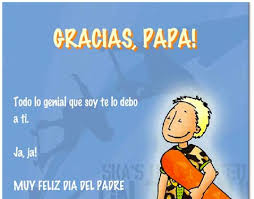 spanish birthday cards for dad card carrying dad designer daddy