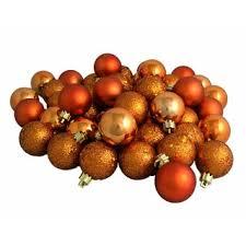 burnt orange ornaments decore