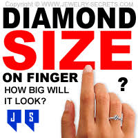 engagement rings size 8 how big will the look on finger jewelry secrets