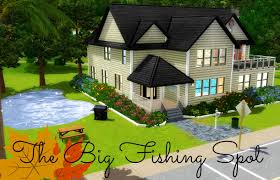 Luxury Home Stuff Mod The Sims The Fishing Spot With Luxury House