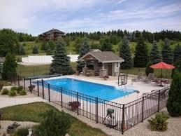 Inground Pool Landscaping Ideas Best 25 Swimming Pool Landscaping Ideas On Pinterest Pool