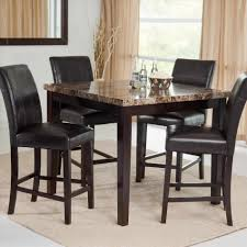 white round dining table open plan dining room located beside a