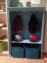 real house life kids coat rack made from 10 bookshelf