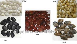 White Marble Rocks For Landscaping by Garden Pebble Black Rock For Landscaping Glow In The Dark Marbles